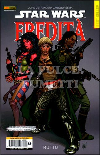PANINI COMICS BEST SELLER - STAR WARS - EREDITÀ 1/4 NUOVI