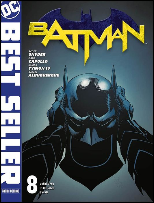 DC BEST SELLER #     8 - bATMAN di SCOTT SNYDER & GREG CAPULLO 8