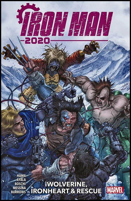 IRON MAN 2020 SPECIAL #     2 - IWOLVERINE, IRONHEART & RESCUE