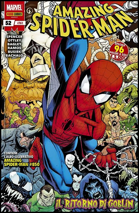 UOMO RAGNO #   761 - AMAZING SPIDER-MAN 52