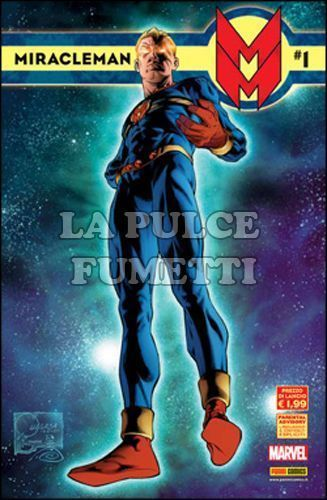 MARVEL COLLECTION 29/44  - MIRACLEMAN 1/16 + SPECIALE STORIE INEDITE COMPLETA