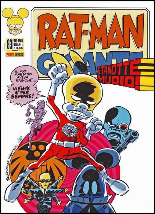 RAT-MAN GIGANTE #    83: STANOTTE MUOIO!