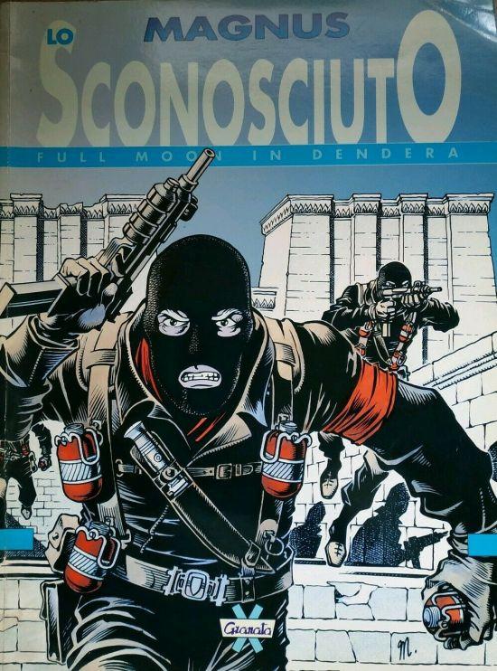 MAGNUS SCHEGGE #    18 - SUPPLEMENTO - LO SCONOSCIUTO: FULL MOON IN DENDERA