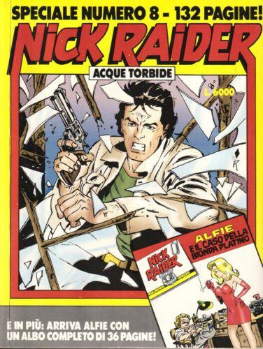 NICK RAIDER SPECIALE #     8: ACQUE TORBIDE NO LIBRETTO