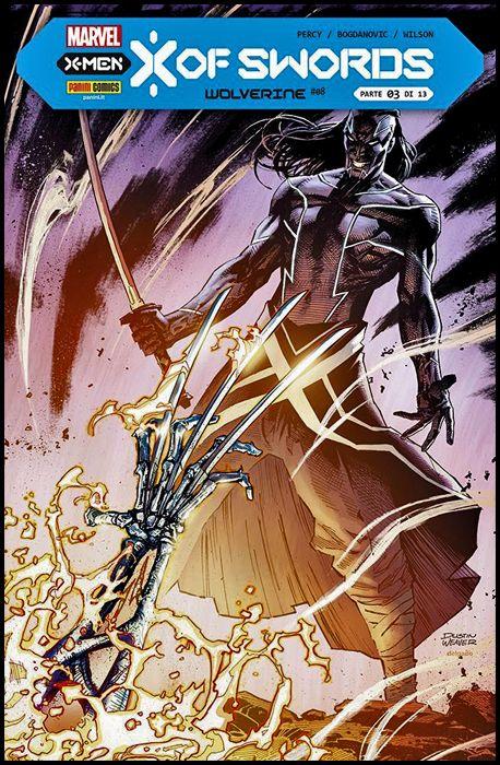 WOLVERINE #   409 - WOLVERINE 8 - X OF SWORDS CAPITOLO 3 (DI 13)