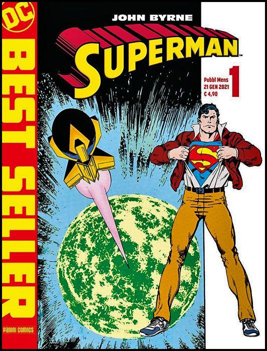 DC BEST SELLER NUOVA SERIE #     1 - SUPERMAN DI JOHN BYRNE 1