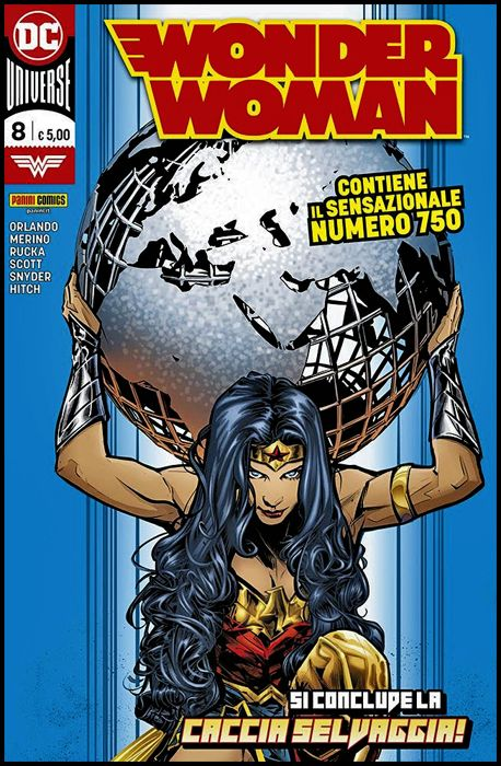 WONDER WOMAN #     8 + ANGIE DIGITWIN RECONNECTION TIME 0