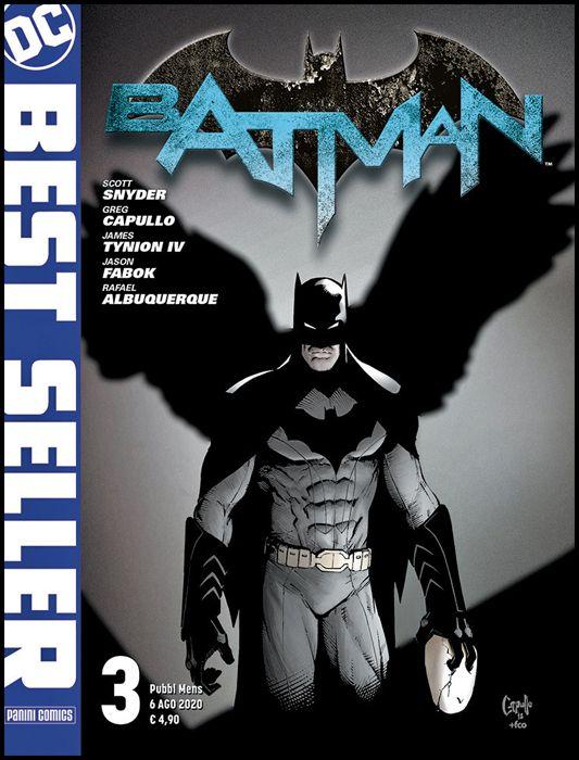 DC BEST SELLER #     3 - bATMAN di SCOTT SNYDER & GREG CAPULLO 3 - 1A RISTAMPA