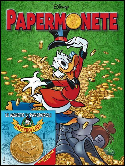 DISNEY MIX #     9 - PAPERMONETE - OPERAZIONE PAPERDOLLARI 2021 + MONETA PAPEROGA