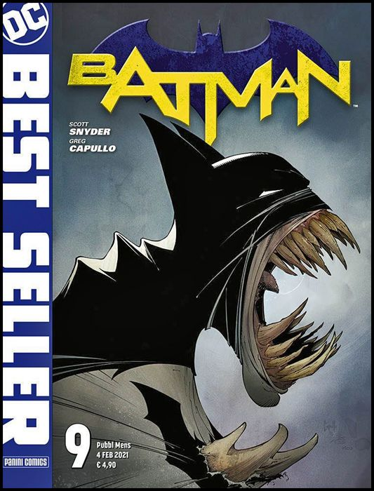 DC BEST SELLER #     9 - BATMAN di SCOTT SNYDER & GREG CAPULLO 9