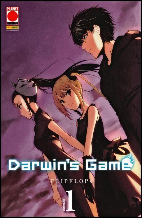 MANGA EXTRA -DARWIN'S GAME 1/14  NUOVI  N1 VARIANT