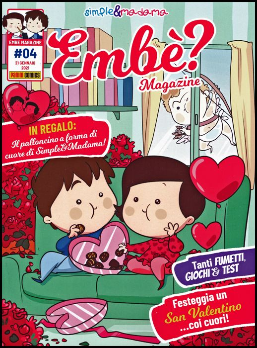 PANINI EXTRA #     4 - EMBÈ ? MAGAZINE 4 - SIMPLE & MADAMA
