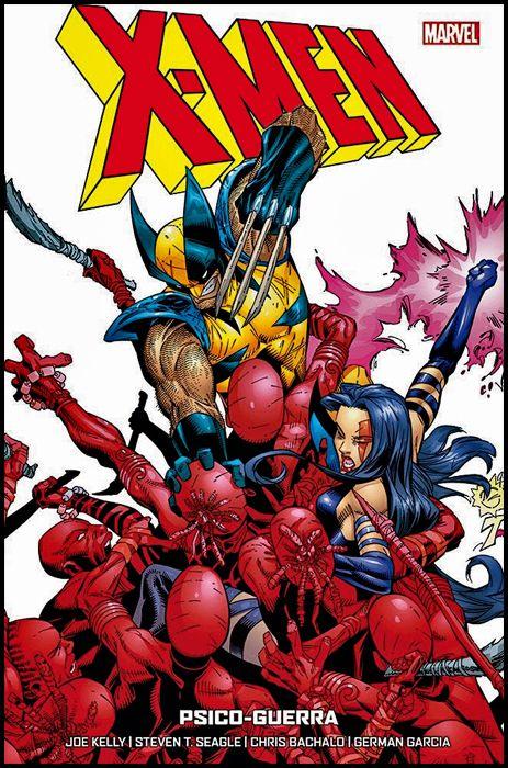 X-MEN - SEAGLE & KELLY #     3: PSICO-GUERRA