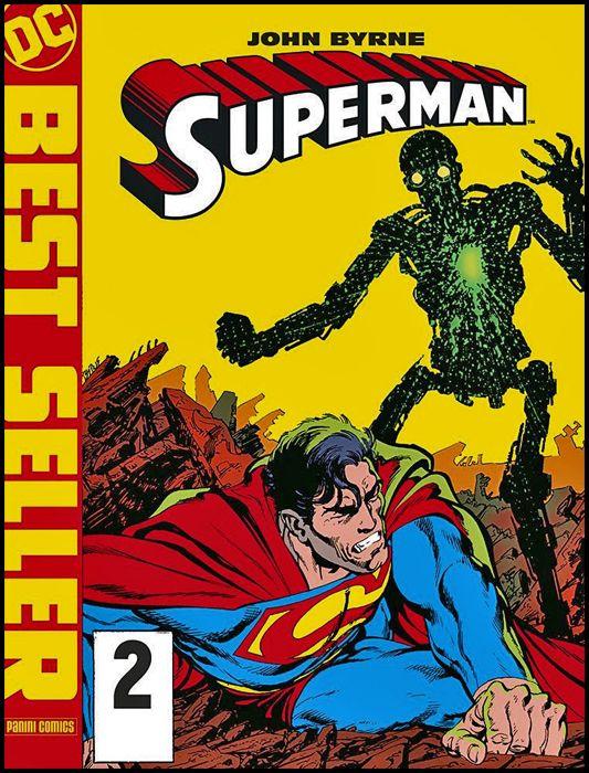 DC BEST SELLER NUOVA SERIE #     2 - SUPERMAN DI JOHN BYRNE  2