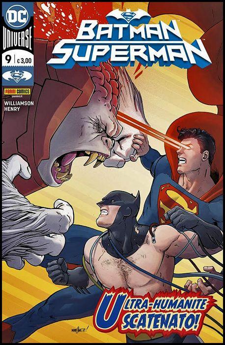 BATMAN SUPERMAN #     9