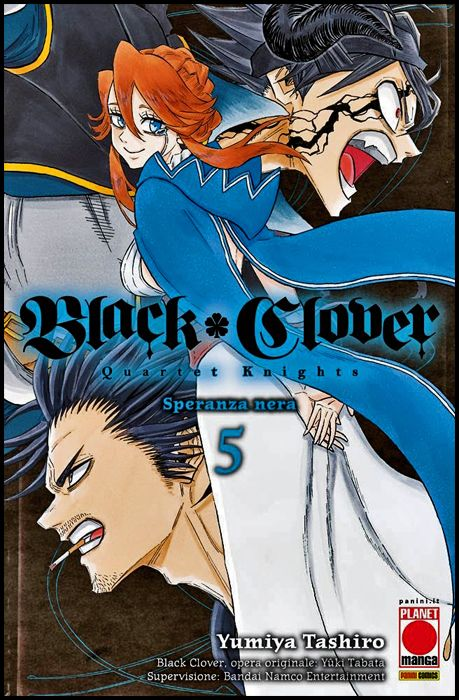 POWERS #    12 - BLACK CLOVER - QUARTET KNIGHTS 5