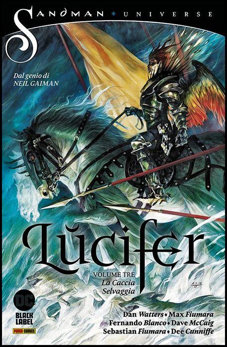 SANDMAN UNIVERSE COLLECTION BLACK LABEL - LUCIFER #     3: LA CACCIA SELVAGGIA