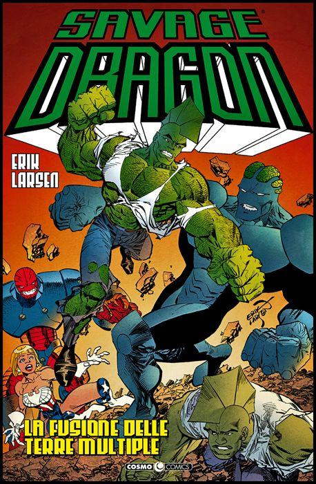 COSMO COMICS SAVAGE DRAGON - SAVAGE DRAGON #    39: LA FUSIONE DELLE TERRE MULTIPLE