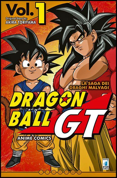 DRAGON BALL GT ANIME COMICS - LA SAGA DEI DRAGHI MALVAGI #     1