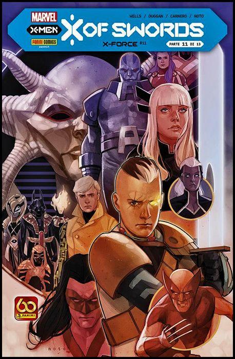 X-FORCE #    11 - X OF SWORDS CAPITOLO 11 (DI 13)