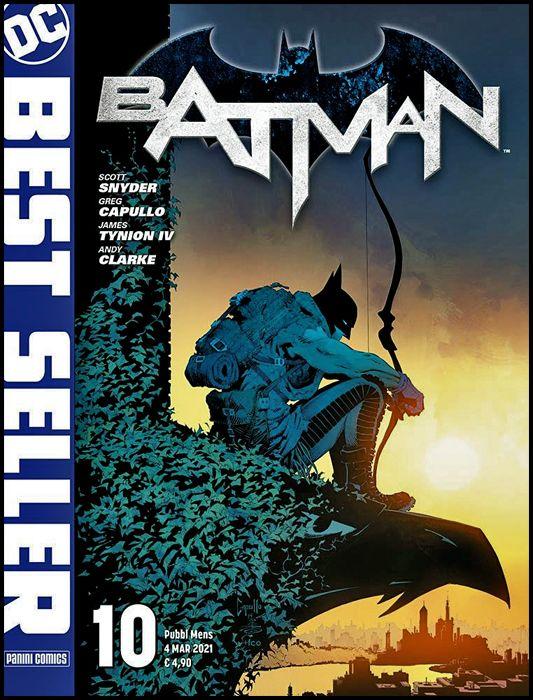 DC BEST SELLER #    10 - BATMAN di SCOTT SNYDER & GREG CAPULLO 10