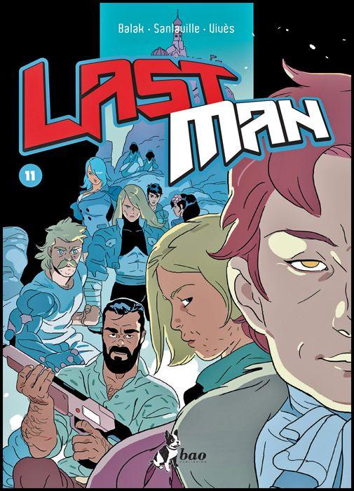 LAST MAN #    11 + ADESIVI