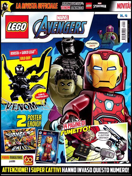 LEGO AVENGERS #     4
