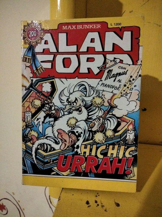 ALAN FORD ORIGINALE #   200: HIC HIC HURRAH!