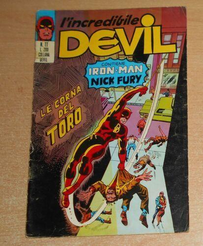 L'INCREDIBILE DEVIL #    77: LE CORNA DEL TORO