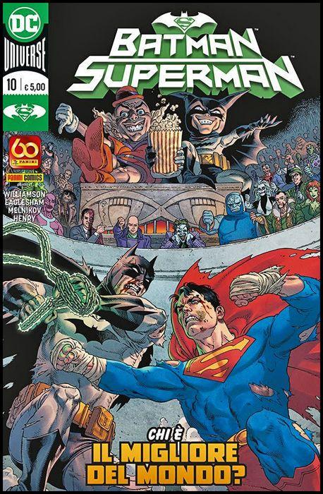 BATMAN SUPERMAN #    10