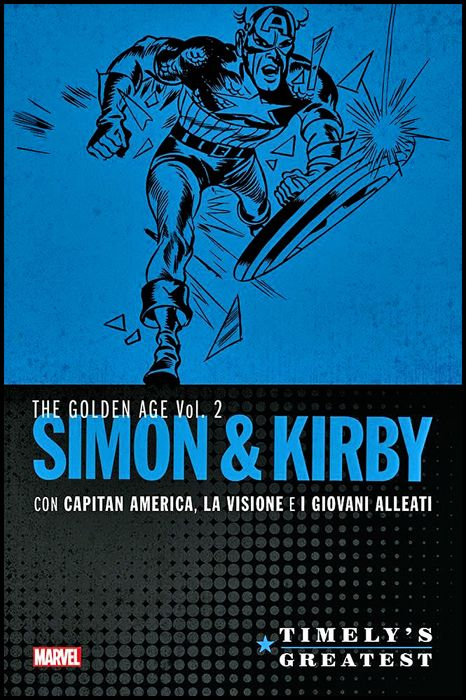 TIMELY'S GREATEST - THE GOLDEN AGE #     2: SIMON & KIRBY 2