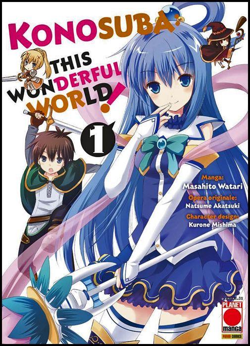CAPOLAVORI MANGA #   143 - KONOSUBA! - THIS WONDERFUL WORLD 1