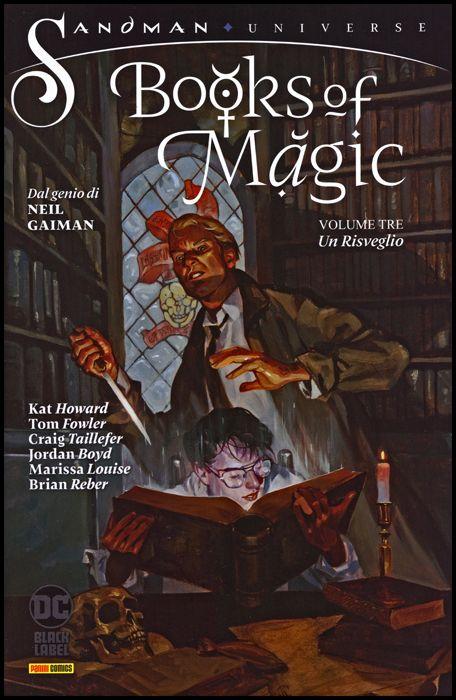 SANDMAN UNIVERSE COLLECTION BLACK LABEL - BOOKS OF MAGIC #     3: UN RISVEGLIO