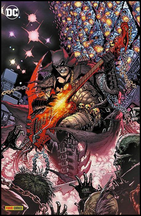 DC CROSSOVER #     7 - BATMAN: DEATH METAL 1 - VARIANT METAL