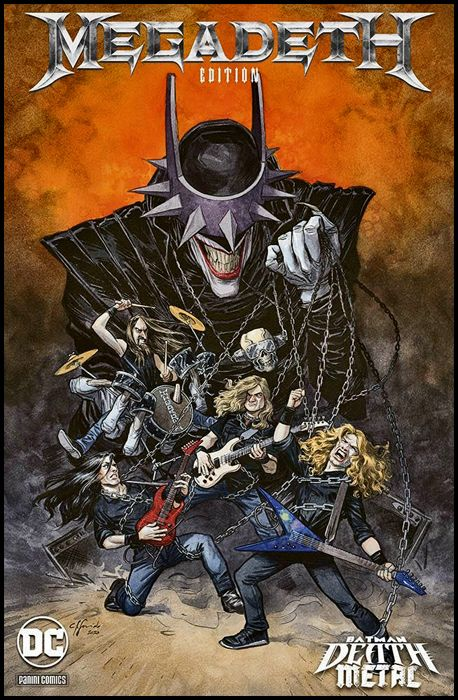 DC CROSSOVER #     7 - BATMAN: DEATH METAL 1 - VARIANT BAND EDITION