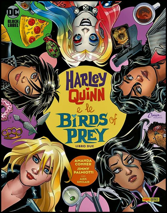 DC BLACK LABEL - HARLEY QUINN E LE BIRDS OF PREY #     2