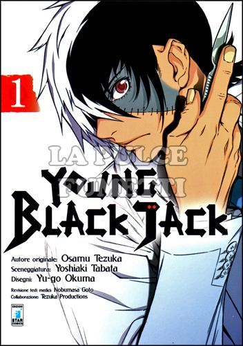 MUST - YOUNG BLACK JACK 1/14 NUOVI