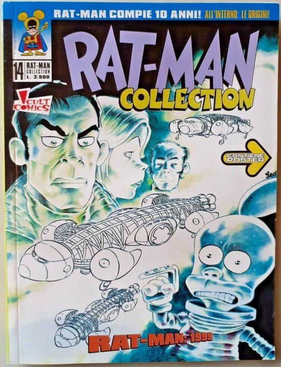 RAT-MAN COLLECTION #    14 + POSTER