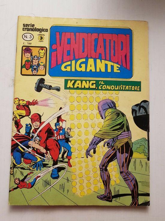 VENDICATORI GIGANTE #     3: KANG IL CONQUISTATORE