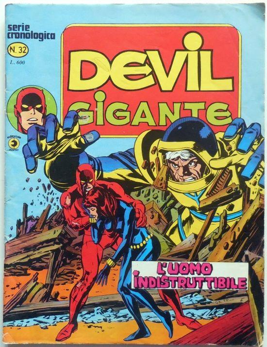 DEVIL GIGANTE #    32: L'UOMO INDISTRUTTIBILE