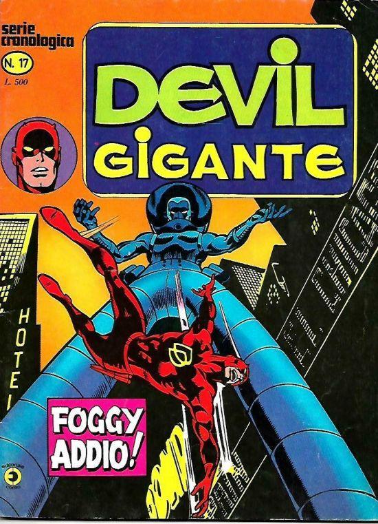 DEVIL GIGANTE #     4: MENTRE LA CITTA' DORME