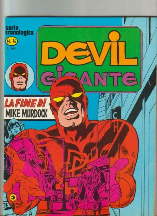DEVIL GIGANTE #    14: LA FINE DI MIKE MURDOCK