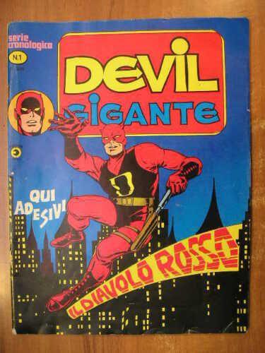 DEVIL GIGANTE #     1: IL DIAVOLO ROSSO + ADESIVO