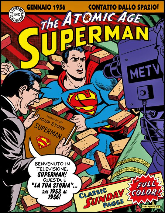 COSMO BOOKS - SUPERMAN: LE TAVOLE DOMENICALI DELLA ATOMIC AGE#     2  - 1953/1956
