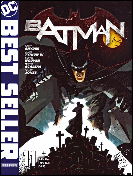 DC BEST SELLER #    11 - BATMAN DI SCOTT SNYDER & GREG CAPULLO 11