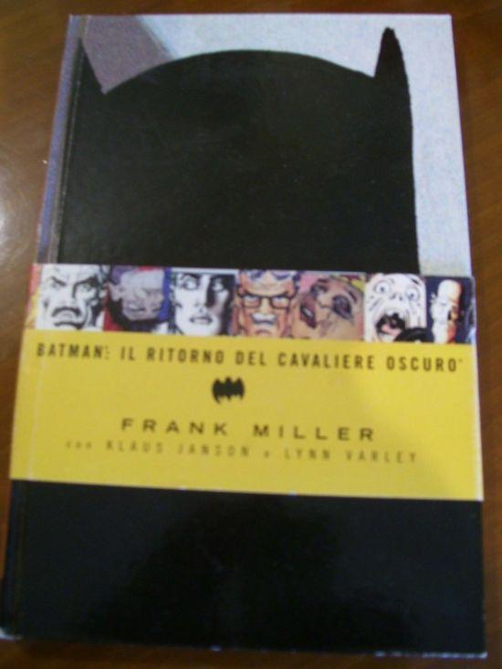 BATMAN: IL RITORNO DEL CAVALIERE OSCURO RISTAMPA HARDCOVER