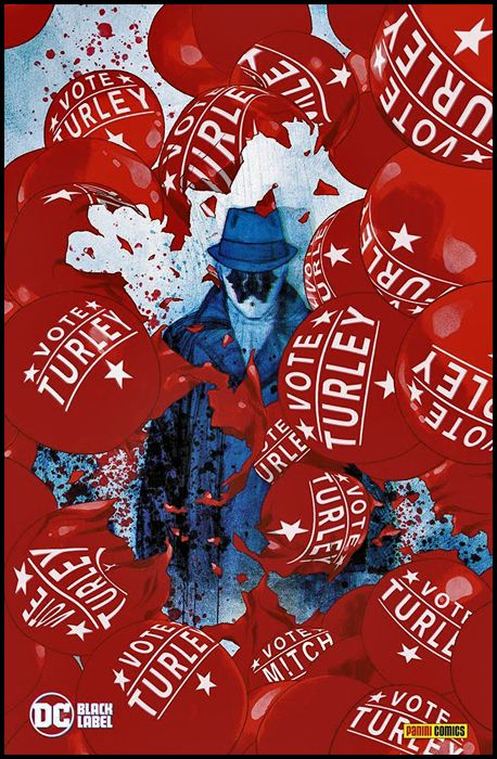 DC BLACK LABEL - RORSCHACH #     1 - VARIANT COVER B