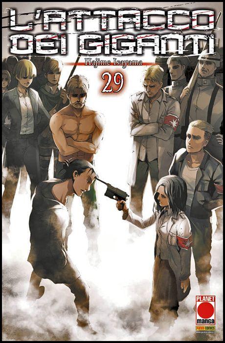 GENERATION MANGA #    29 - L'ATTACCO DEI GIGANTI 29 - 1A RISTAMPA