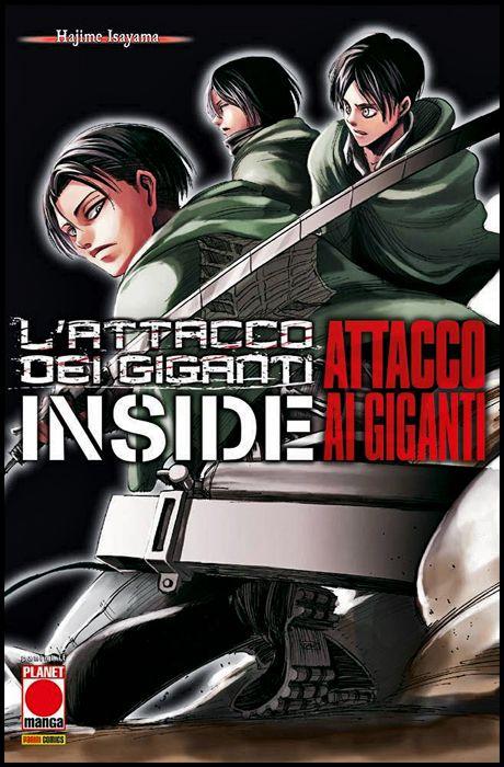 MANGA SHOCK #     1 - L'ATTACCO DEI GIGANTI - INSIDE: ATTACCO AI GIGANTI - 1A RISTAMPA