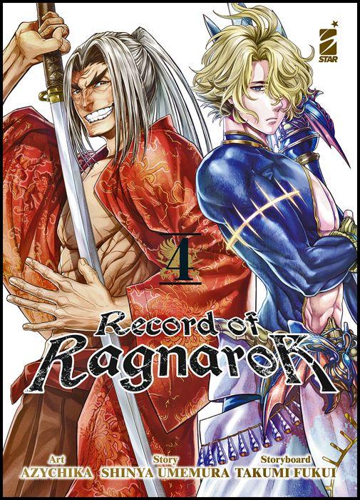 ACTION #   325 - RECORD OF RAGNAROK 4 + SET DI SEGNALIBRI IN PVC - 1A TIRATURA